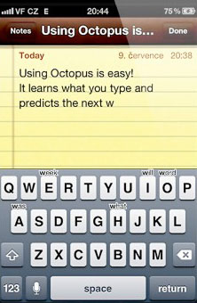 Octopus Keybaord Cydia apps