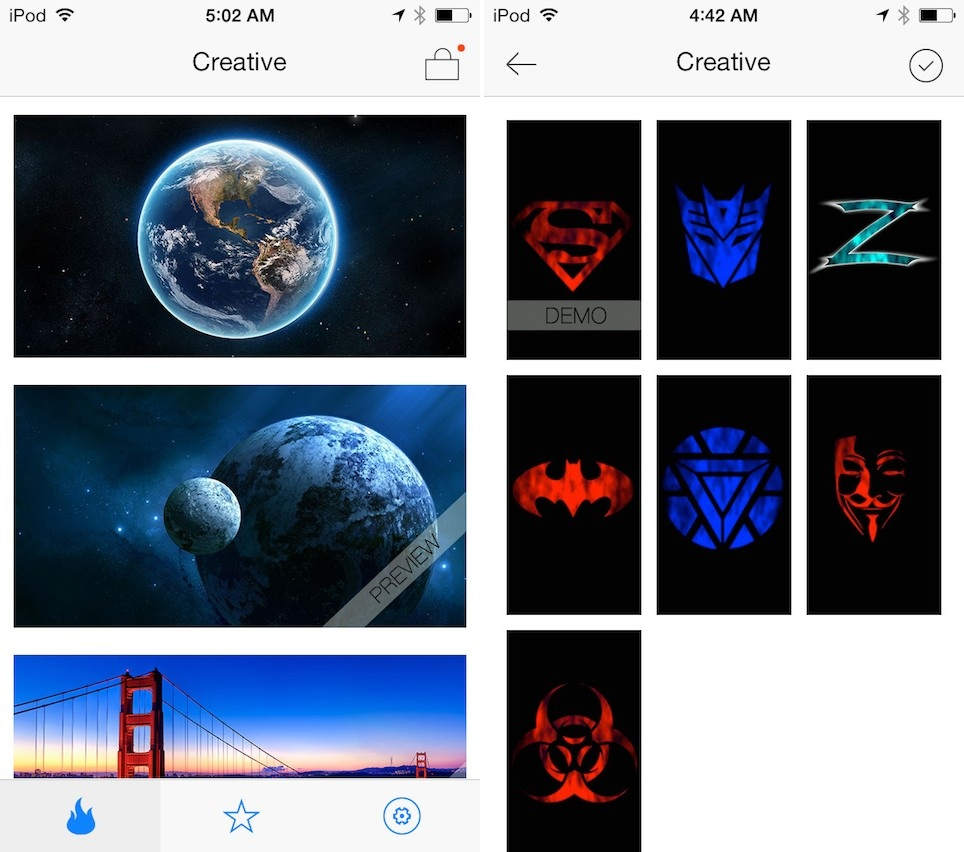 Wallpaper downloader app - Idynamic Cydia Wallpaper App