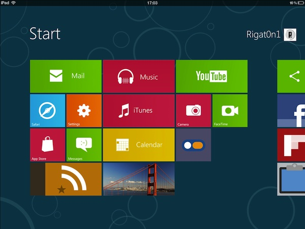 Aero 2 iPad theme