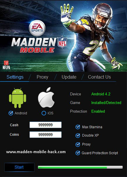 Cydia hacks for Madden Mobile