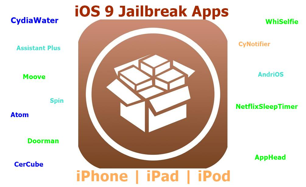 iOS 9 jailbreak Cydia Apps