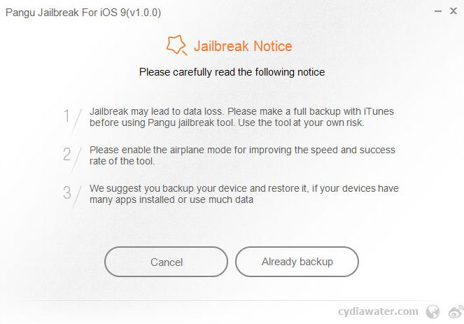 iOS 9 jailbreak Pangu Jailbreak