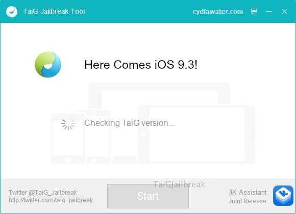 TaiG iOS 9.3 jailbreak