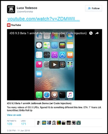 TaiG iOS 9 3 Jailbreak for iPhone and iPad - Cydia Download, Free