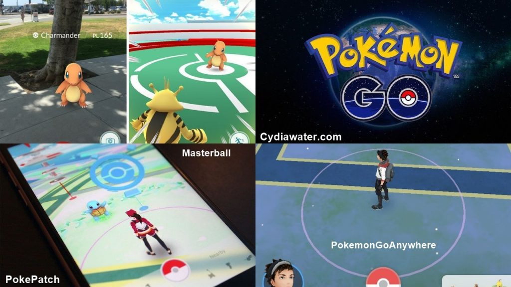 Cydia apps tweaks Pokemon go hack