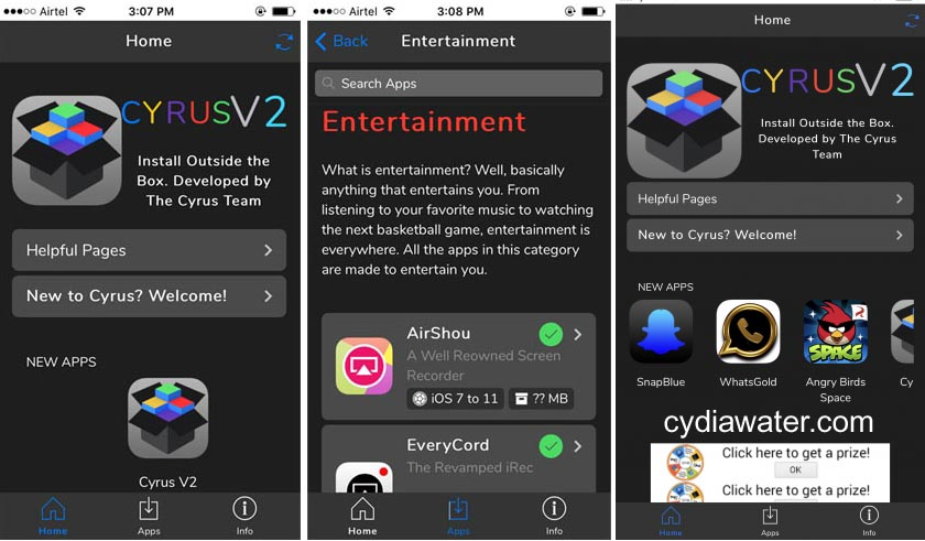 How to Install Cydia Apps on iOS 10 3 3 Without Jailbreak - Cydia